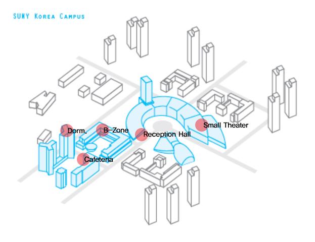 SUNY Korea Campus Map