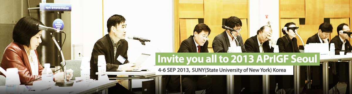 Invite you all to 2013 APrIGF Seoul